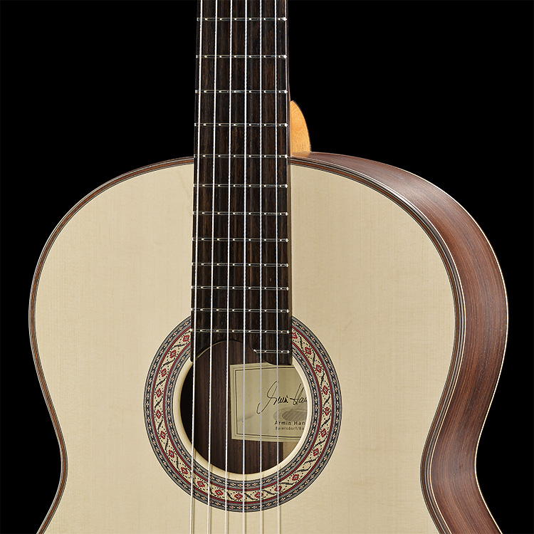 Natural Lattice Hanika Guitars