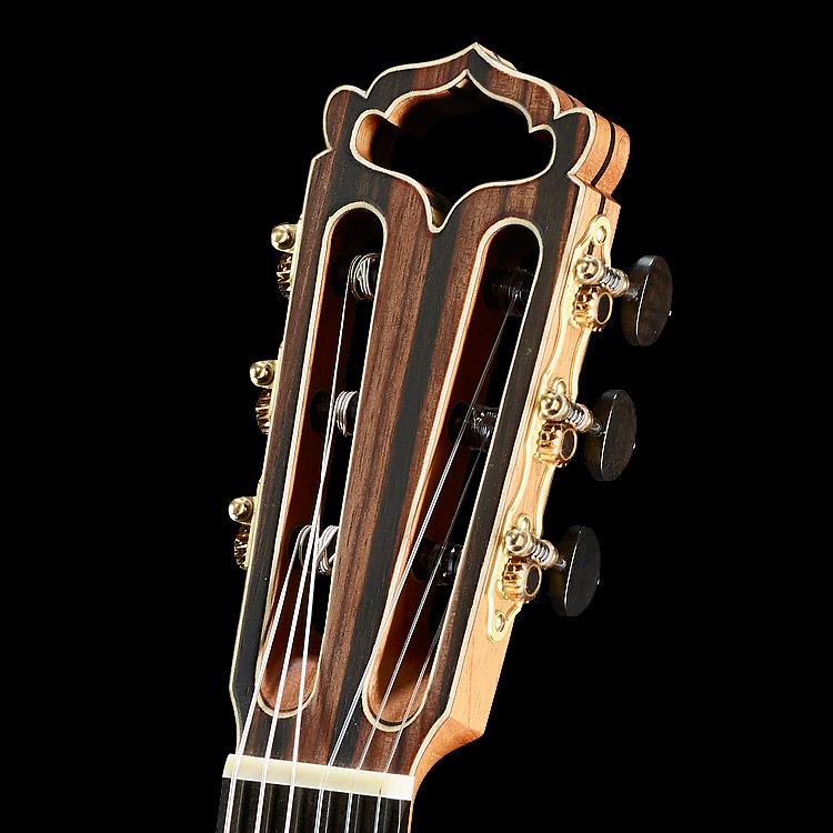 Natural Doubletop Cf Hanika Guitars